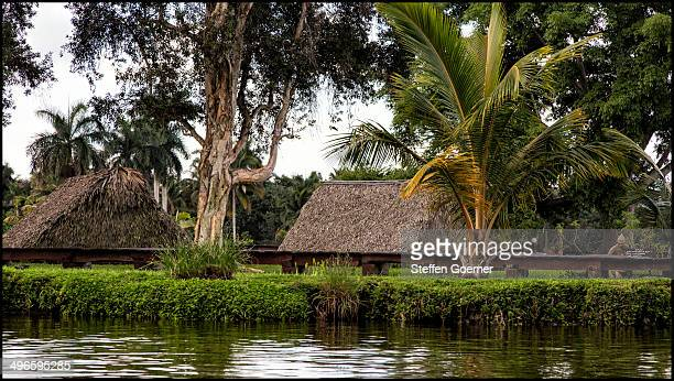 CONTENT] Native village Aldea Taina close to Guamá / Península de Zapata