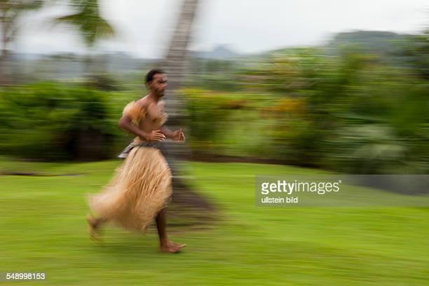 Native Warrior, Pacific Harbour, Viti Levu, Fiji
