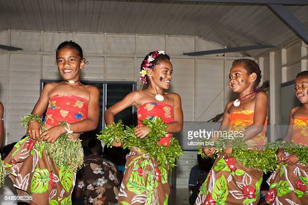Natives perform Kava Ceremony Makogai Lomaviti Fiji