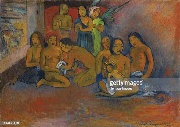 Nativité 1902 Private Collection Artist Gauguin Paul Eugéne Henri
