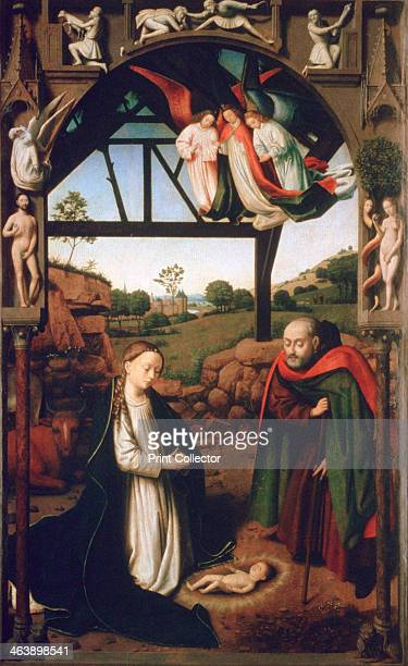 'Nativity' 1452 From the collection of the Groeninge Museum Bruges