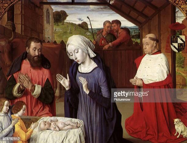 Nativity Maitre de Moulins 1480