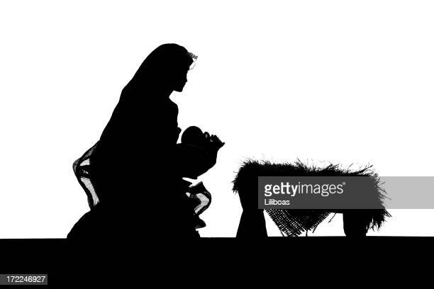 Nativity (photographed Silhouette)