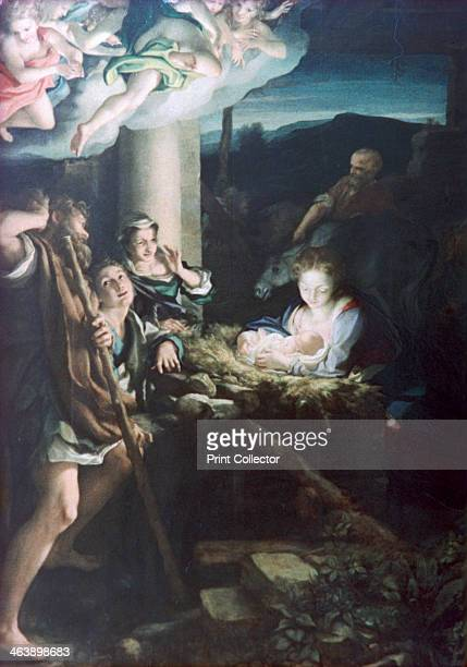 'Nativity Scene' 15221530 From the collection of the Gemaeldegalerie Alte Meister Dresden Germany