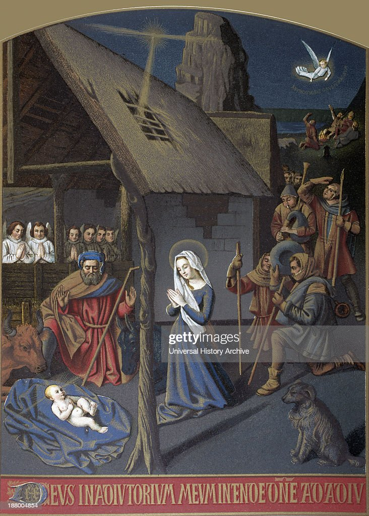 Nativity Scene : News Photo