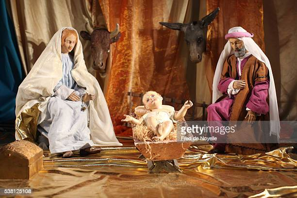 Nativity scene in Saint Sulpice church