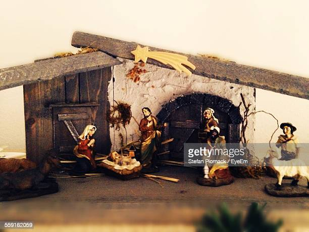 Nativity Scene Of Jesus Christ Birth