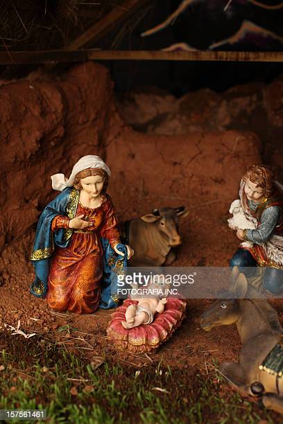 nativity scene - jesus birth stock pictures, royalty-free photos & images