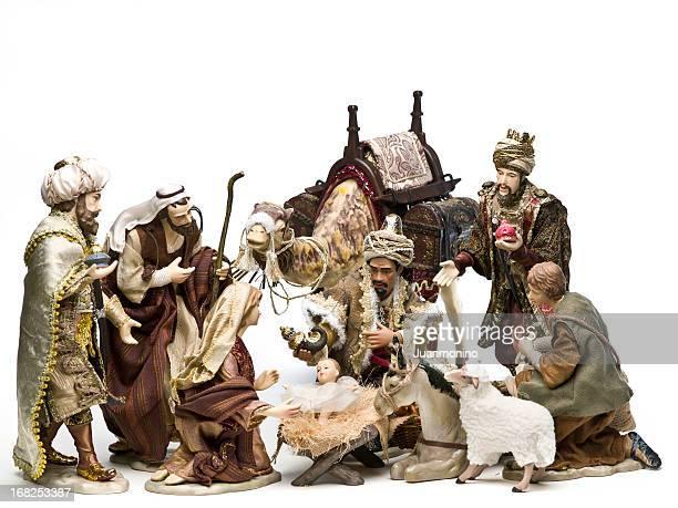 キリスト降誕場面