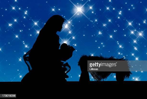 Nativity Scene (Vector)