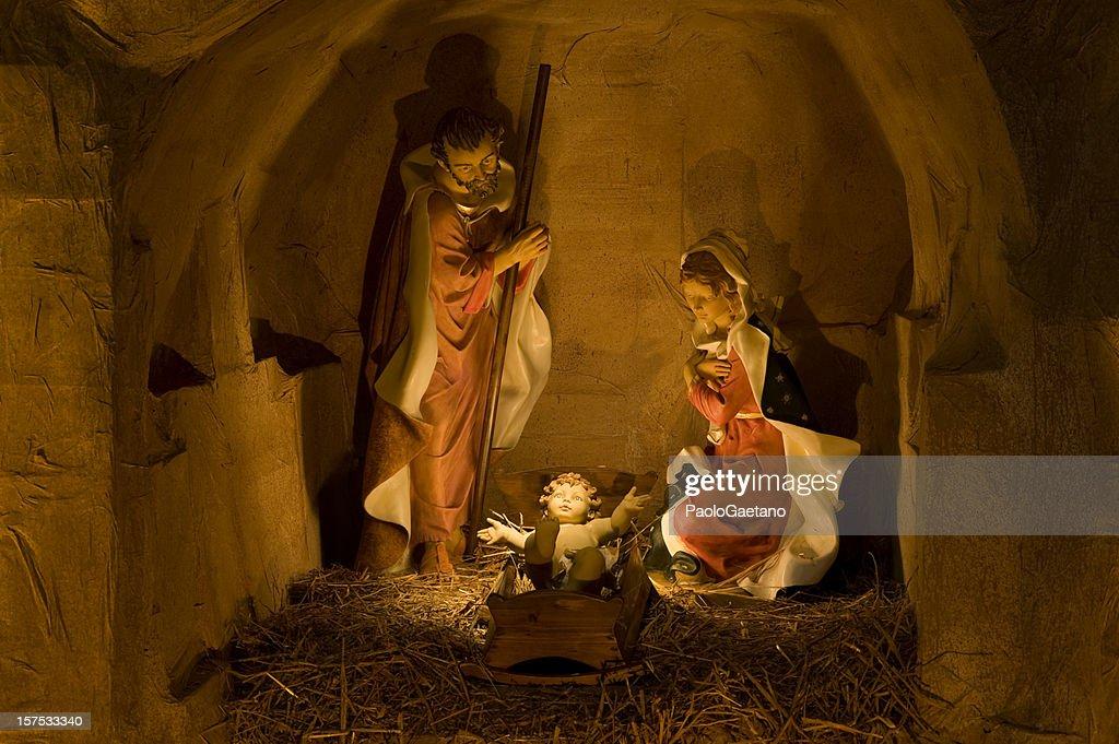Nativity scene - Presepio : Stock Photo