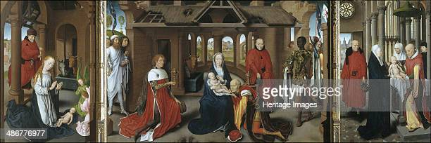 Nativity The Adoration of the Magi The Presentation of Jesus at the Temple 14791480 Artist Memling Hans