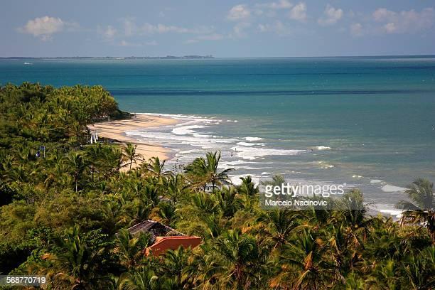 nativos beach , trancoso , bahia , brazil - trancoso imagens e fotografias de stock