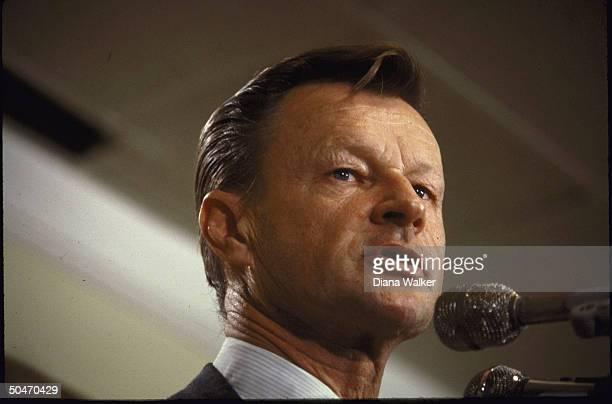 Natl Security Adviser Zbigniew Brzezinski speaking to Women's Natl Dem Club re situation in Afghanistan