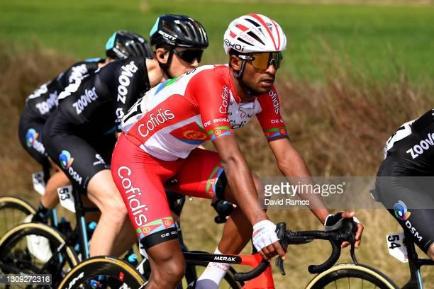 Natnael Berhane Teweldemedhin of Eritrea and Team Cofidis during the 100th Volta Ciclista a Catalunya 2021, Stage 5 a 201,5km stage from La Pobla De...