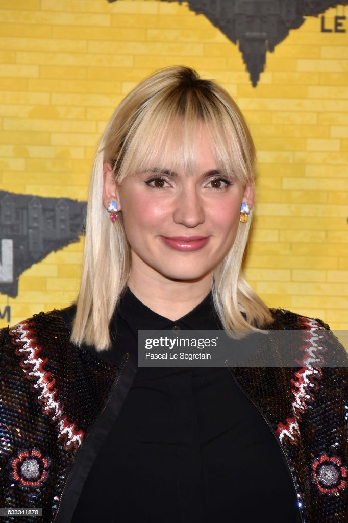 Natoo attends 'Lego Batman' Premiere at Le Grand Rex on February 1, 2017 in Paris, France.