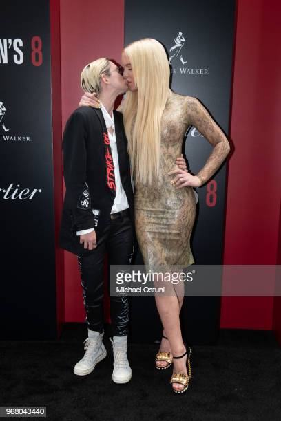 Nats Getty and Gigi Gorgeous attend 'Ocean's 8' World Premiere at Alice Tully Hall on June 5 2018 in New York City