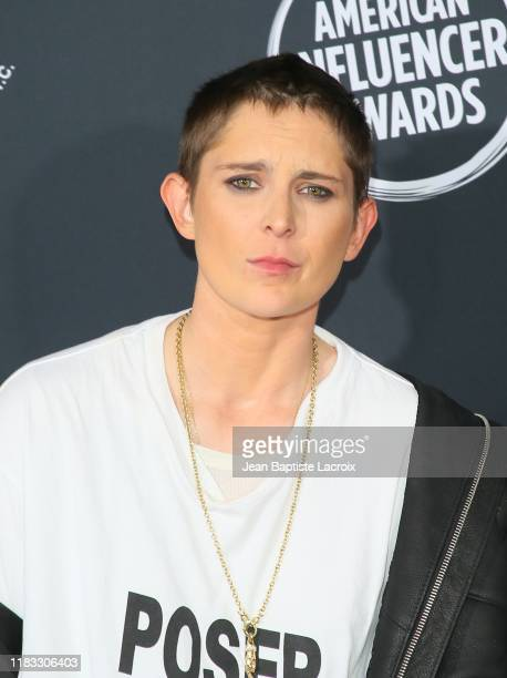 Nats Getty attends the 2nd Annual American Influencer Awards at Dolby Theatre on November 18 2019 in Hollywood California