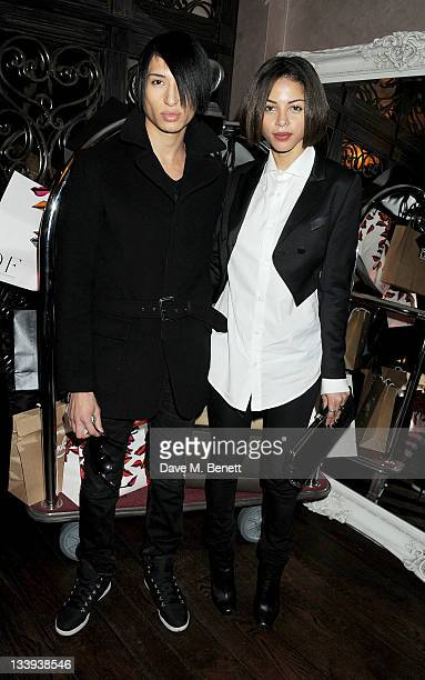 Natt Weller and Ana Araujo attend 'Film InStyle' in association with Land Rover celebrating InStyle Magazine's 10th Anniversary at The Sanctum Soho...
