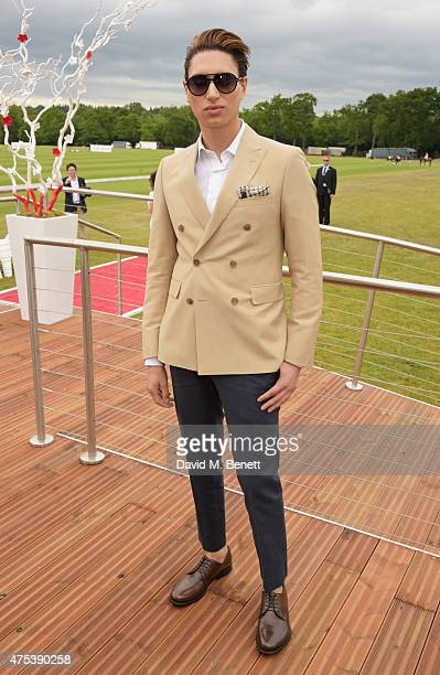 Natt Weller attends day two of the Audi Polo Challenge at Coworth Park on May 31 2015 in London England