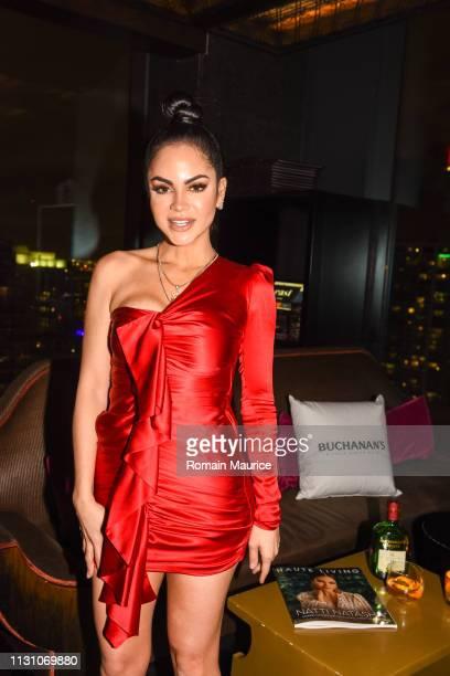 Natti Natasha attends Haute Living Celebrates Natti Natasha With Buchanan's Whisky at Tea Room at EAST Miami on February 20 2019 in Miami Florida