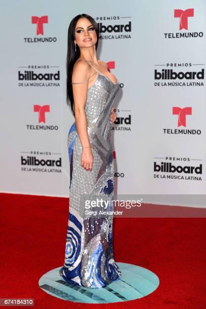 Natti Natasha attends the Billboard Latin Music Awards at Watsco Center on April 27 2017 in Coral Gables Florida