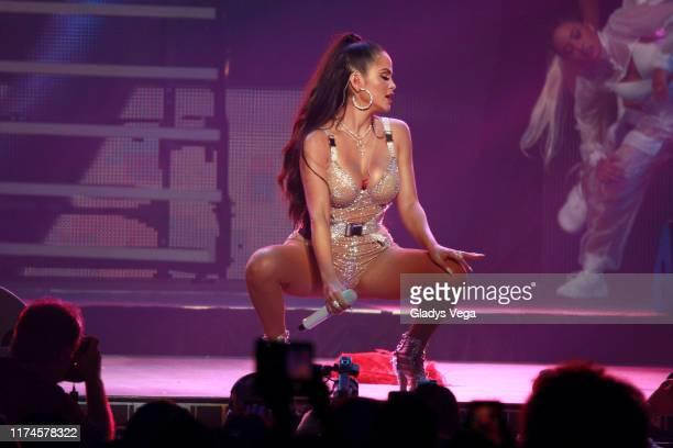 Natti Natasha performs onstage during the Reggaeton White Concert at Coliseo Jose M Agrelot on September 13 2019 in San Juan Puerto Rico