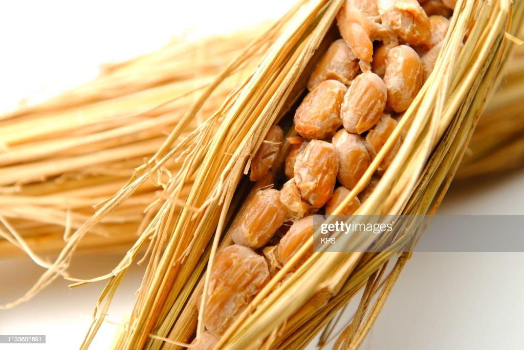 Natto. Japanese food. : Stock Photo