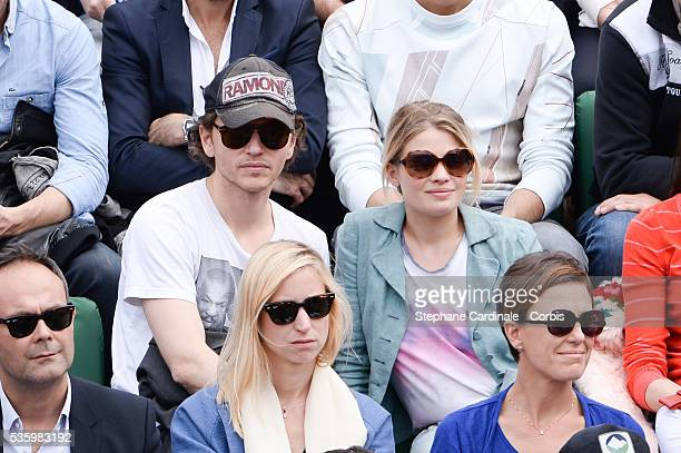 Natty attends the Roland Garros French Tennis Open 2014