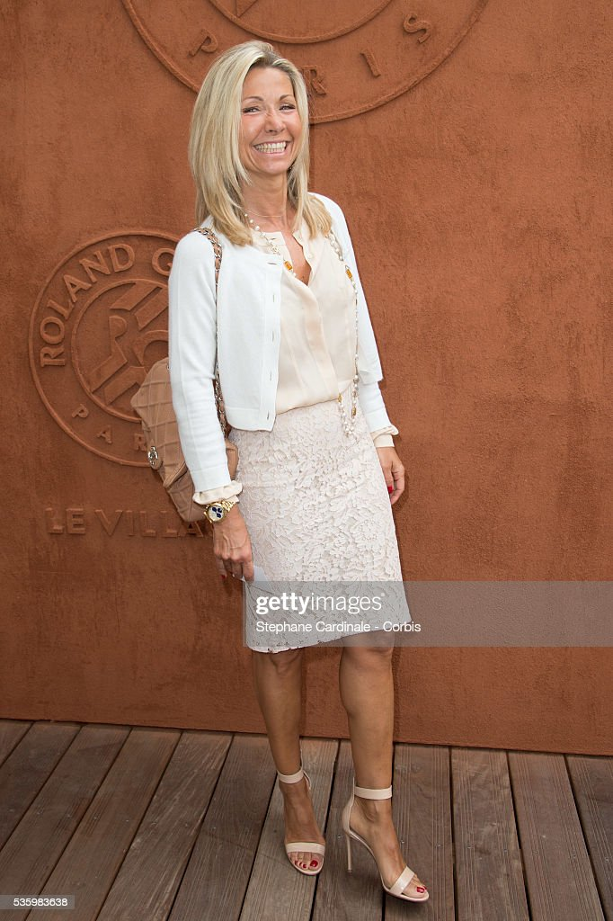 France - Celebrities At French Open 2014 - Day 9 : Photo d'actualité