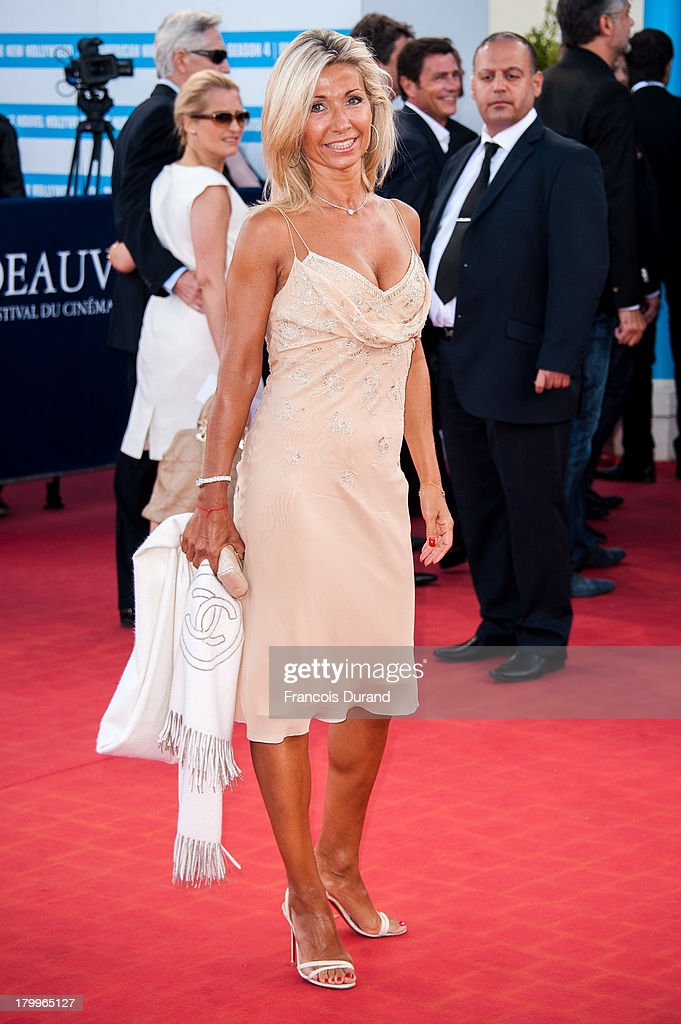 Natty Tardivel arrives at the 'Snowpierce' Premiere and closing ceremony of the 39th Deauville American Film Festival on September 7, 2013 in Deauville, France.
