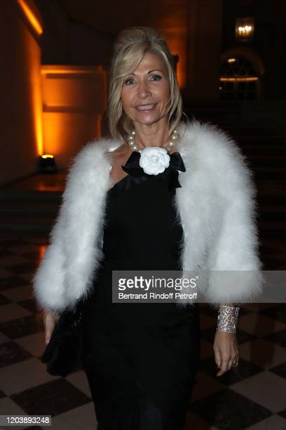 Natty Tardivel attends the 20th Gala Evening of the Paris Charter Against Cancer for the benefit of the International Institute of Cancer Research in...