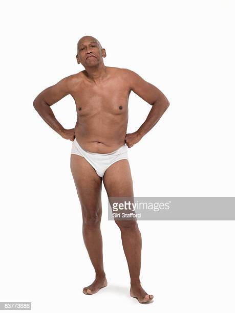 natural aging male body