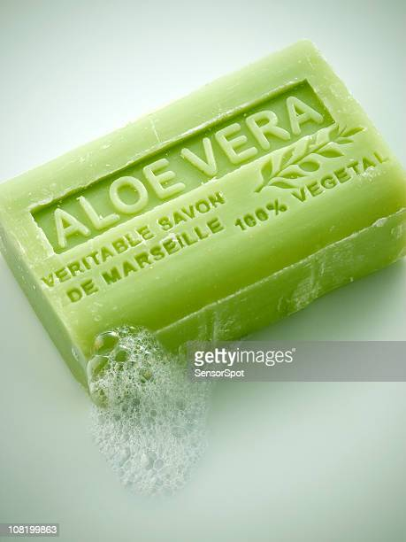 Natural aloe soap