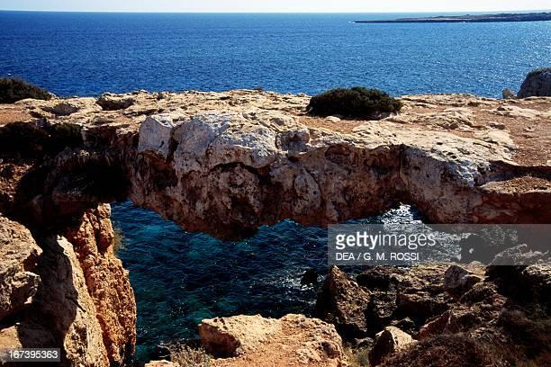 Natural Arch Cape Greco Cyprus