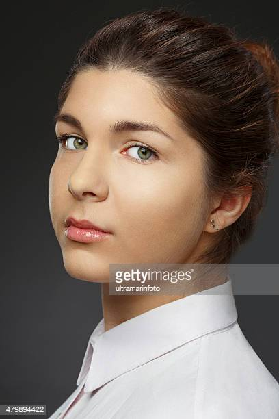 Natural Beauty Portrait   Young  Woman   Businesswoman