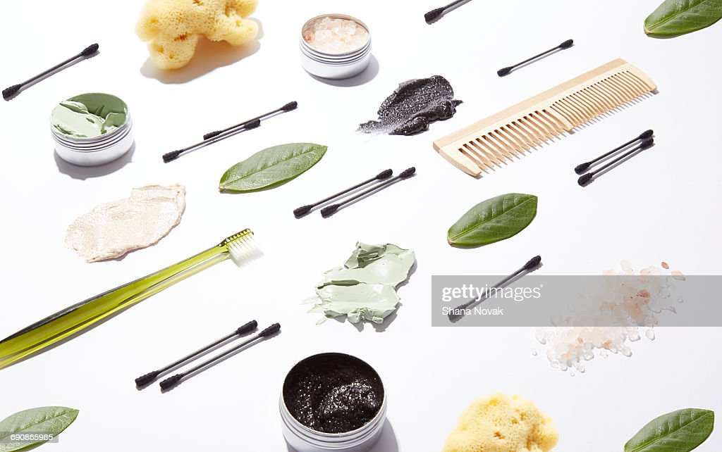 Natural Beauty Products : Stock Photo