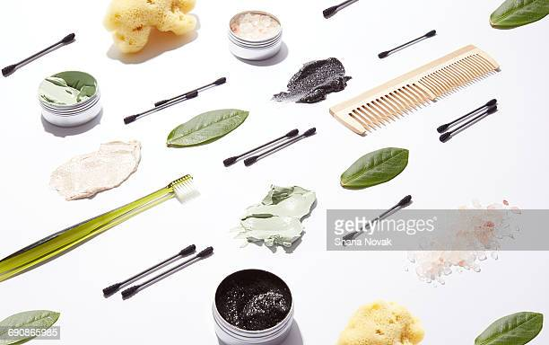 natural beauty products - cosmetics stock pictures, royalty-free photos & images