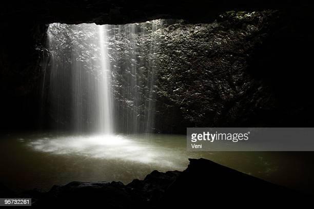 Natural Bridge Waterfall, Queensland, Australia