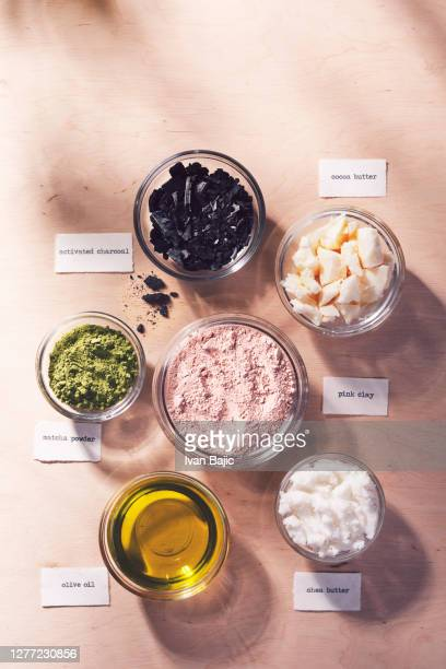 natural cosmetics ingredients - natural condition stock pictures, royalty-free photos & images