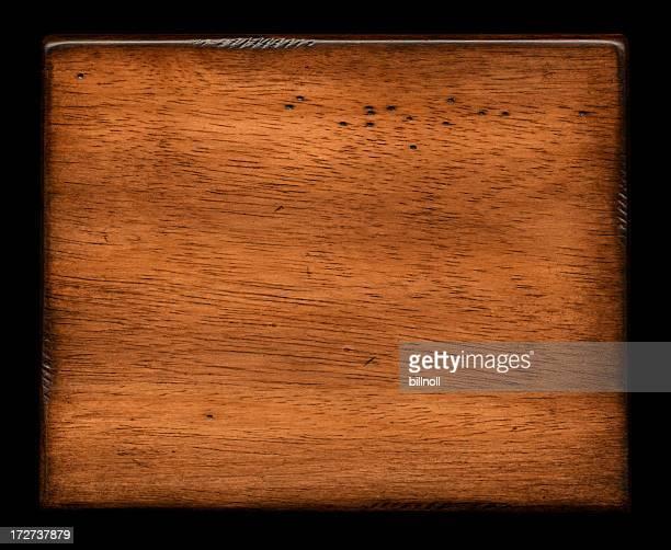 Fond de la texture du bois vieilli Bloc