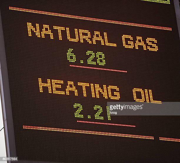 natural gas and heating oil report