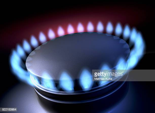natural gas burner flame - 天然ガス ストックフォトと画像