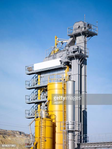 Natural gas fired turbine power plant,fall,field