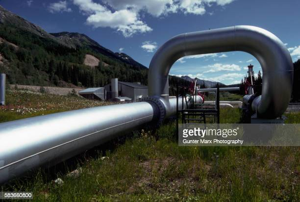 natural gas pipeline - image stock pictures, royalty-free photos & images
