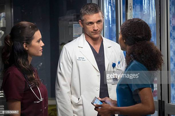 MED Natural History Episode 202 Pictured Torrey DeVitto as Natalie Manning Jeff Hephner as Jeff Clarke Yaya DaCosta as April Sexton