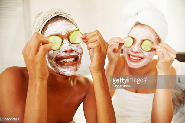 Natural homemade facial mask