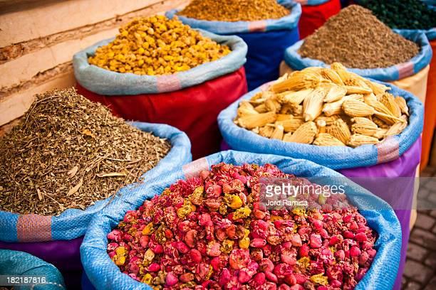 medicina naturale di marrakesh - marrakesh foto e immagini stock