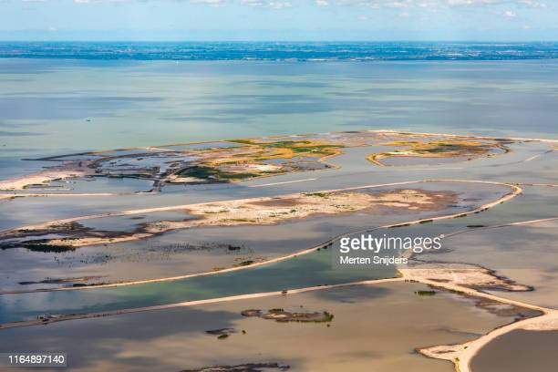 natural reserve the marker wadden - merten snijders stock pictures, royalty-free photos & images