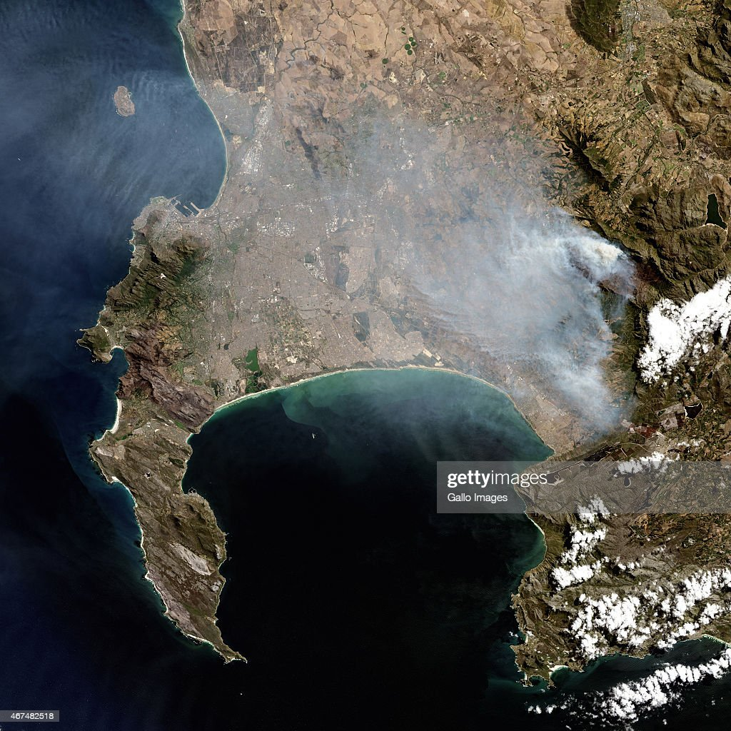 Satellite Views Of The Aftermath Of The Cape Fires Photos And - Recent satellite pictures